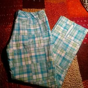 LILLY PULITZER COOL PLAID PANTS-SIZE 6-PERFECT